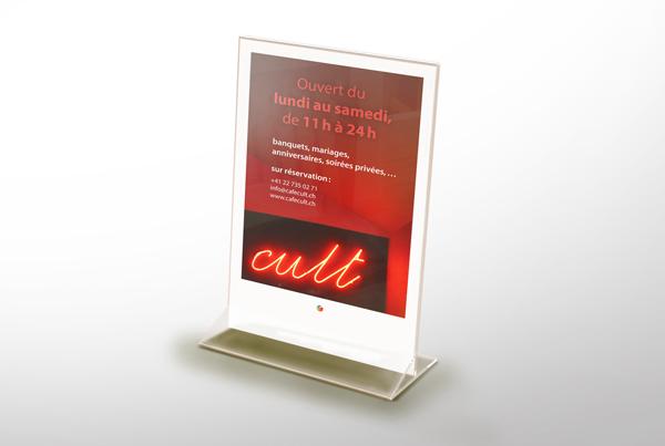 Café Cult – Flyer