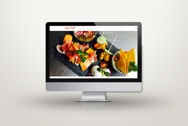 Café Cult – Site web